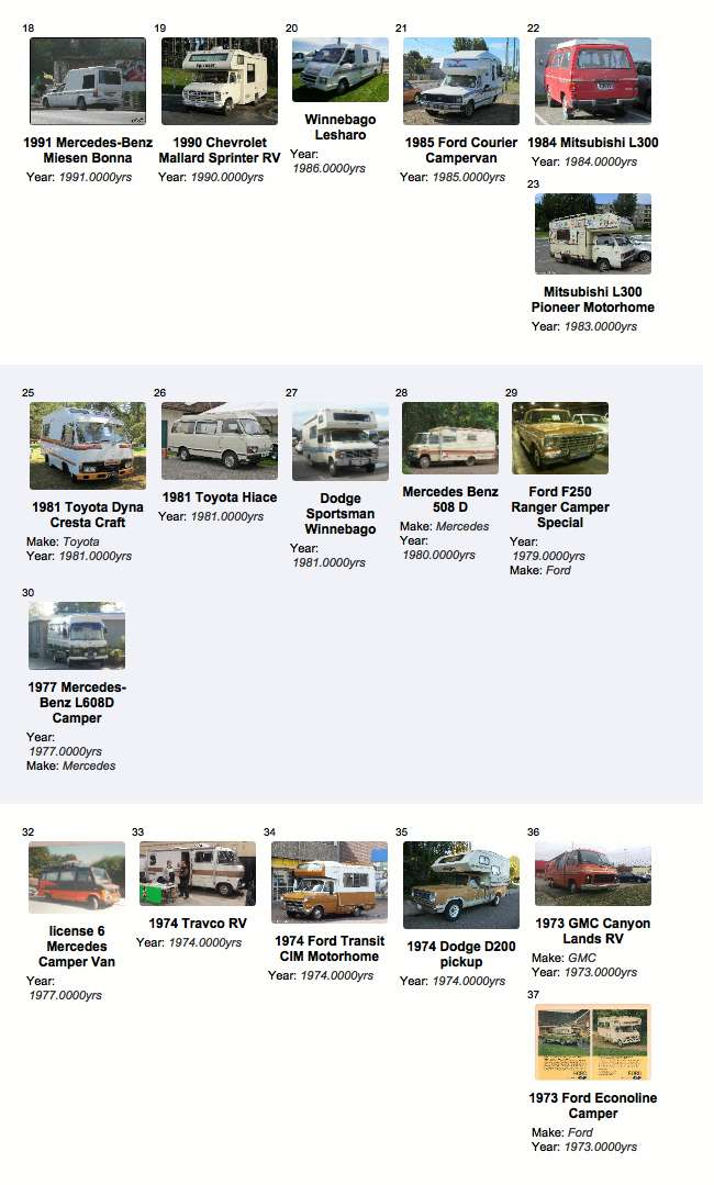 A History of Recreational Trucks and Camper Vehicles
